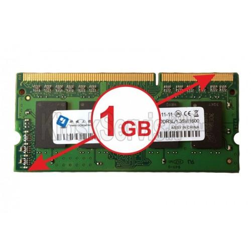 Оперативная память DDR3L 1.35V 1600 - 1 GB