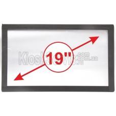 "Сенсорное стекло LED «i-Touch» 3мм 19"" 16:9 широкоформатное"