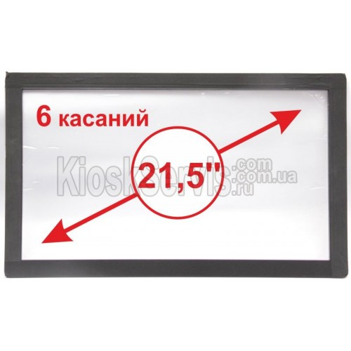 "Сенсорная панель  Led «i-Touch» мультитач, широкоф. 21,5"" / 6 касаний"