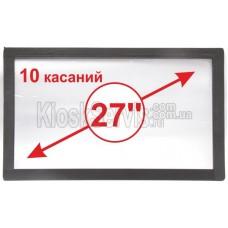 "Сенсорная панель Led «i-Touch» мультитач, широкоф. 27"" / 10 касаний"