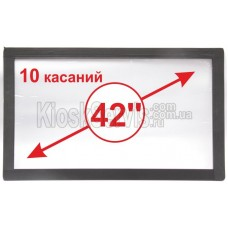 "Сенсорная панель  Led «i-Touch» мультитач, широкоф. 42"" / 10 касаний"