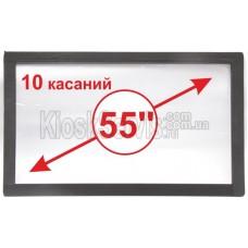 "Сенсорная панель  Led «i-Touch» мультитач, широкоф. 55"" / 10 касаний"