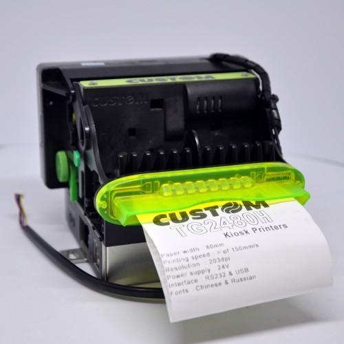 Термопринтер  Custom TG - 2480 (новый) для киоска